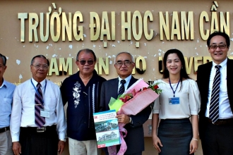 Nam Can Tho University establishes educational cooperation with Japan
