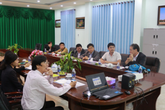 NAM CAN THO UNIVERSITY WELCOMED KOREA FOOD RESEARCH INSTITUTE DELEGATION