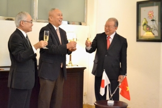 The General Consulate of Japan honors Pro-Dr. Tong Xuan Vo