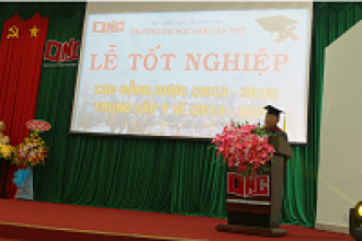 GRADUATION CEREMONY OF VOCATIONAL INTERMEDIATE OF MEDICINE CLASS, TERM 2014 – 2016 AND COLLEGE OF PHARMACY CLASS, TERM 2013 – 2016
