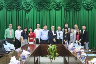 JAPANESE CORPORATION, TSUKUI, VISITED AND WORKED AT NAM CAN THO UNIVERSITY