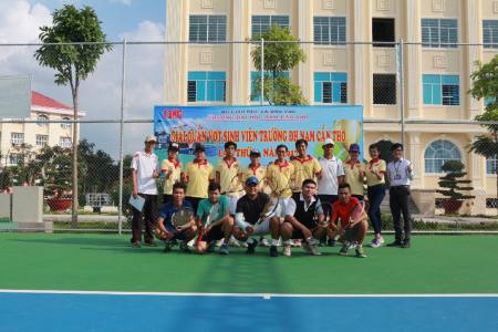 THE FIRST NAM CAN THO UNIVERSITY STUDENT  TENNIS TOURNAMENT 2017