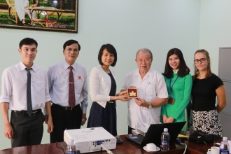 NAM CAN THO UNIVERSITY WELCOMED EDUCATION ATTACHÉ OF CONSULATE GENERAL OF CANADA
