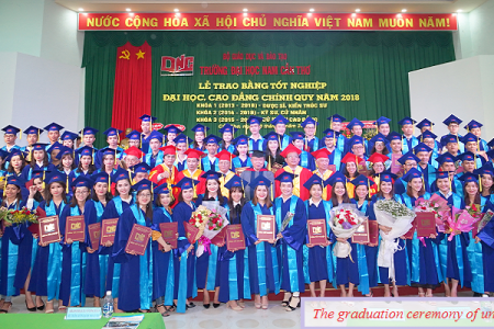THE GRADUATION CEREMONY OF UNIVERSITY AND COLLEGE STUDENTS- 2018