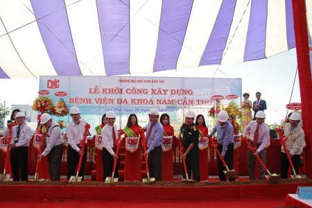 Groundbreaking Ceremony Nam Can Tho General Hospital