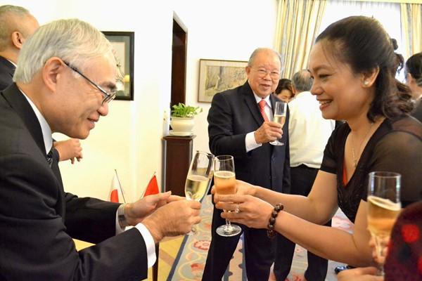 Tổng Lãnh sự quán Nhật Bản vinh danh GS.TS Võ Tòng Xuân ảnh 4