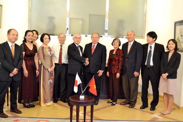 Tổng Lãnh sự quán Nhật Bản vinh danh GS.TS Võ Tòng Xuân ảnh 5