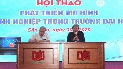 University in Can Tho promotes enterprise in university model